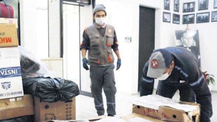 Vatandaşın bağışları depremzedelere ulaştı