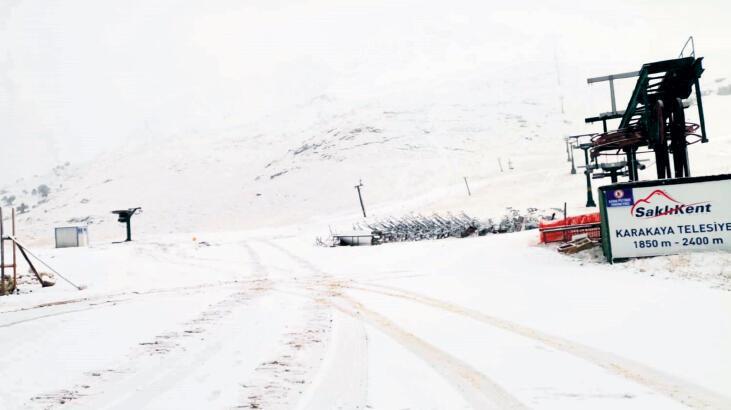 4 kent için kar uyarısı