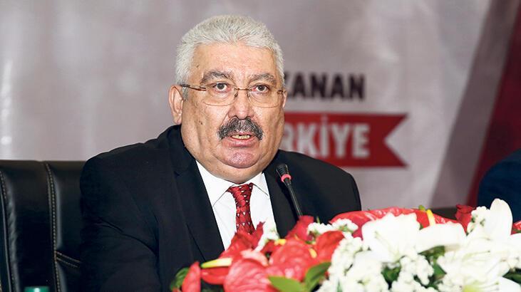 MHP'li Semih Yalçın: Türk  siyasetinde CHP krizi var