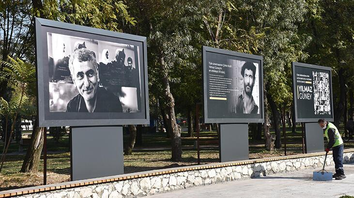 Batman Atatürk Parkı'na Yılmaz Güney köşesi