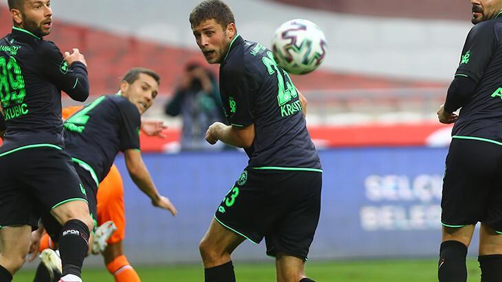Konyaspor'un gol yükü Artem Kravets'in omuzlarında