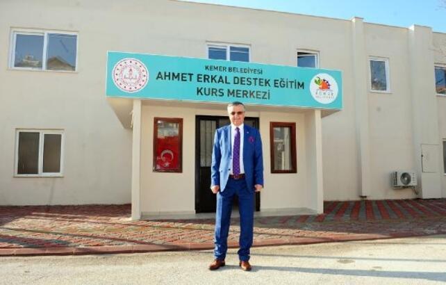Ahmet Erkal Eğitim Kursu'nda çevrimiçi eğitime geçiliyor