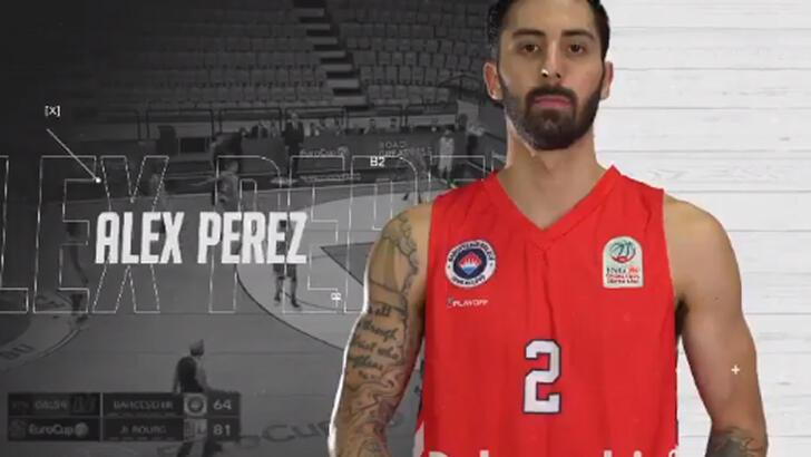 Son dakika | Alex Perez resmen Fenerbahçe Beko'da!