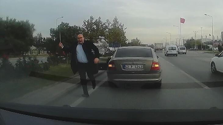 Konya'da levyeli saldırgan tutuklandı