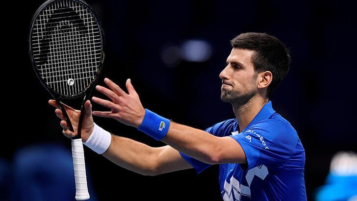 ATP Finalleri'nde Novak Djokovic yarı finale yükseldi!