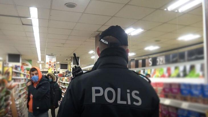 Arnavutköy'de yasağa rağmen müşteri alan marketçiye ceza