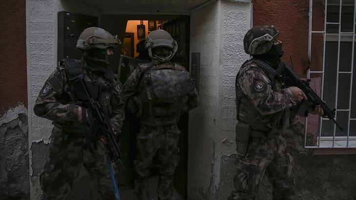Son dakika! İstanbul'da terör örgütü operasyonu: 1 buçuk kilo patlayıcı