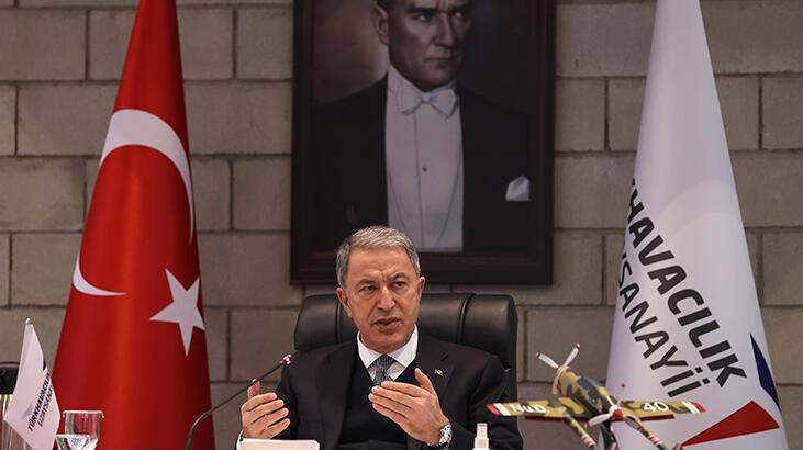 Son dakika! Bakan Akar'dan Azerbaycan tezkeresi hakkında flaş açıklama