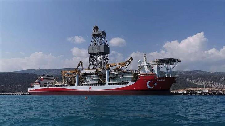 """""""Kanuni"""" Karadeniz'de matkap döndürmeye hazırlanıyor"""