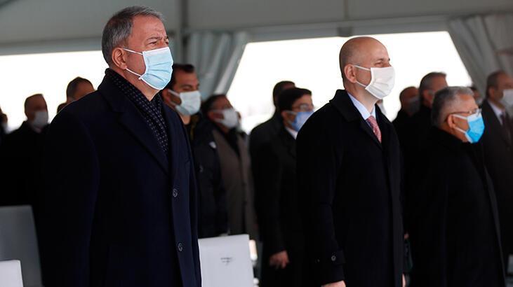 Bakan Akar, Kayseri Havalimanı yeni terminal binası temel atma töreninde konuştu