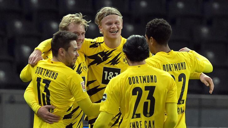 Son dakika - Erling Haaland'dan 4 gol birden! Nuri Şahin'in rekorunu kırdı...