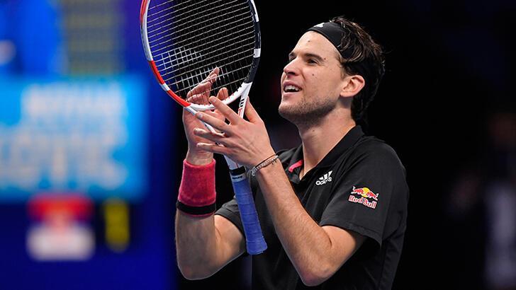 ATP Finalleri'nde Thiem finale çıktı