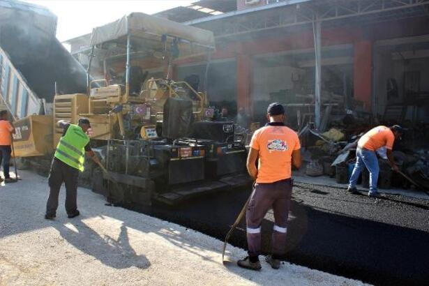 Mersin'de üst yapı çalışmaları devam ediyor