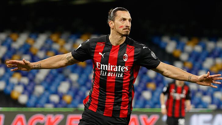 Milan, Napoli'yi Ibrahimovic ile yıktı!