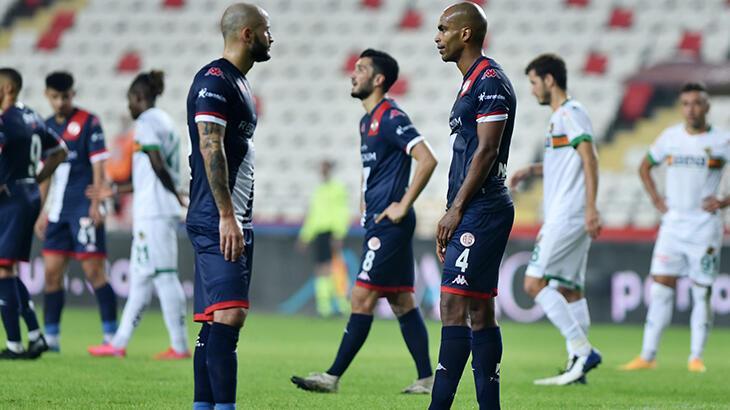 Antalyaspor'un 3 puan hasreti, 6 haftaya yükseldi