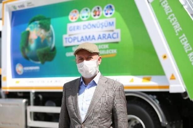 Başkan Çolakbayrakdar'dan geri dönüşüm açıklaması