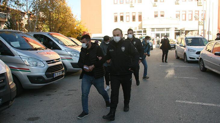 Karı koca çifti darp edip polislere saldıran 4 kişi tutuklandı!