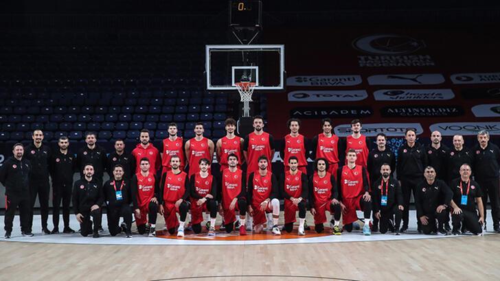A Milli Erkek Basketbol Takımı'nda Orhun Ene ilk idmanına çıktı