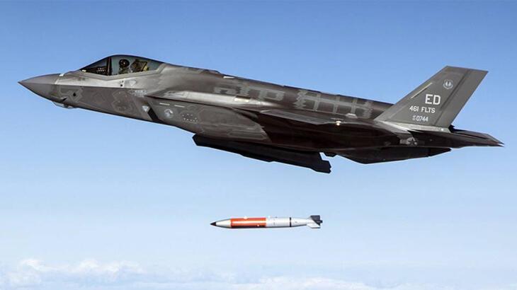 ABD'den F-35 uçağında 'nükleer bomba' testi! 42 saniyede vurdu