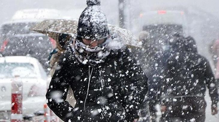 Son dakika... Şehir şehir açıklandı! Meteoroloji'den kar ve fırtına uyarısı