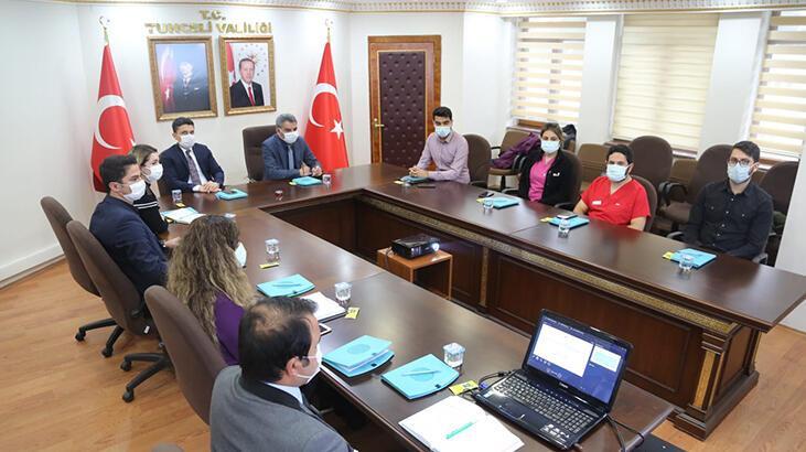 Tunceli'de, koronavirüs nedeniyle engelli personele idari izin
