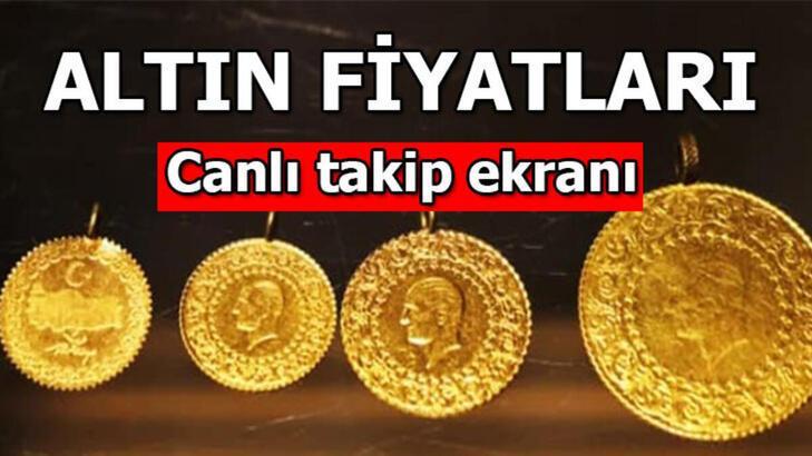 Altın fiyatları ne kadar? Bugün gram, çeyrek altın fiyatı kaç lira?