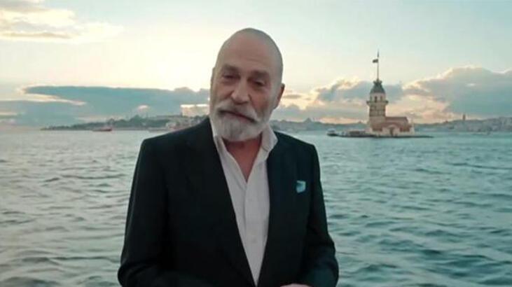 Haluk Bilginer, 2020 Emmy Ödülleri'nde 'En İyi Erkek Oyuncu'yu anons etti