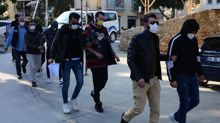 Datça'da uyuşturucu operasyonu: 5 gözaltı