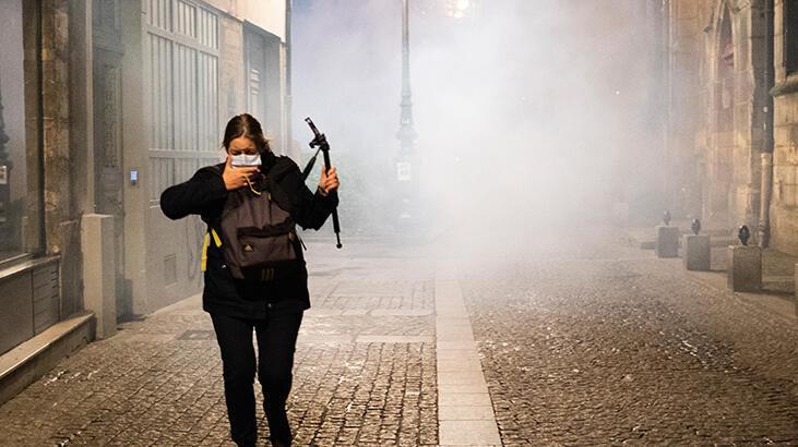 Fransız muhalif lider Melanchon: Fransa otoriter bir rejime kayma sürecinde
