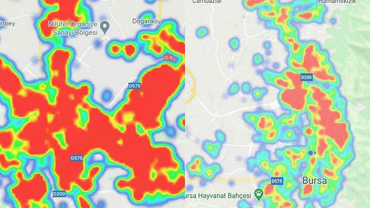 Bursa'nın risk haritası, 3 ayda kırmızıya döndü!
