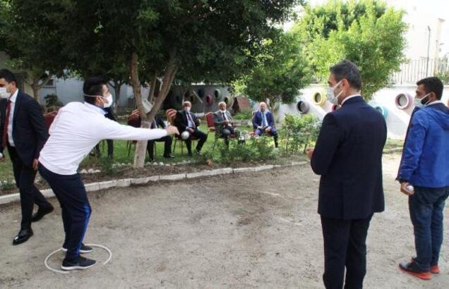 Öğretmenler Bocce Turnuvası'nda yarıştı
