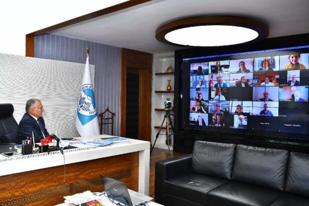 Başkan Büyükkılıç, Kurumsal Akreditasyon Dış Paydaşlar Toplantısı'na katıldı