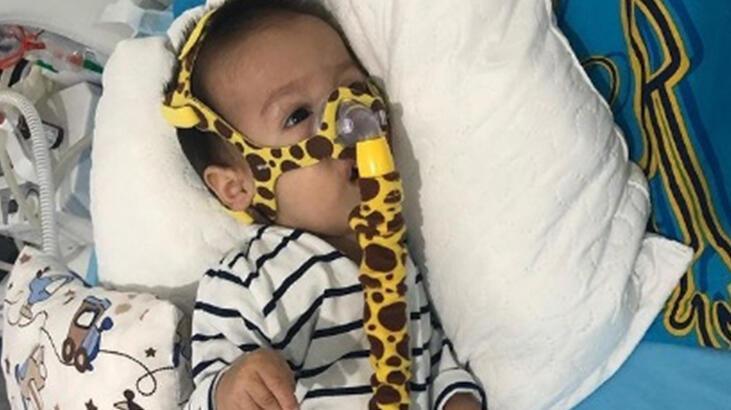 SMA hastası Yiğit bebek tedavi için yardım bekliyor!