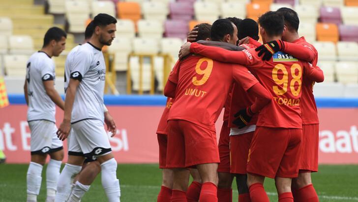Yeni Malatyaspor-Etimesgut Belediyespor: 2-0
