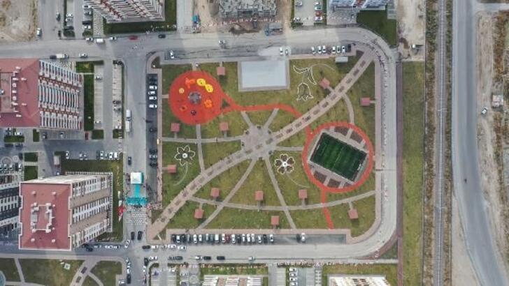 Kayseri'de Alsancak Parkı açıldı