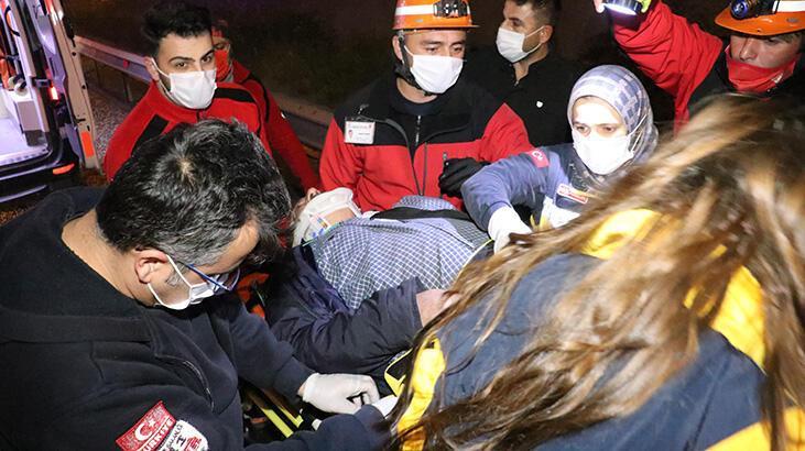 Anadolu Otoyolu'nda kaza: 1 yaralı var