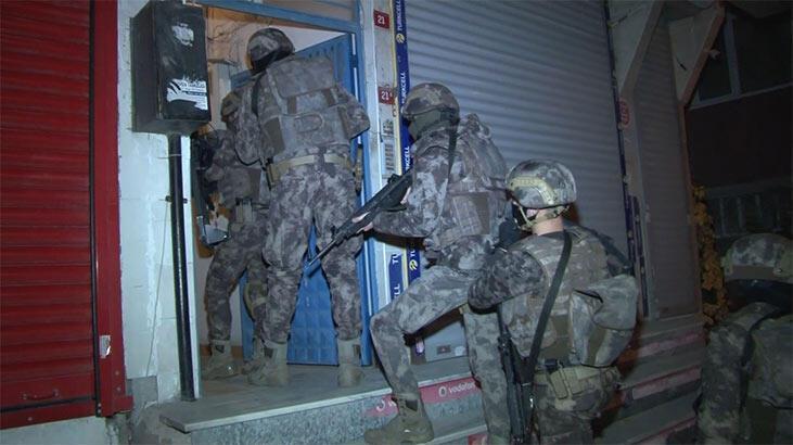 İstanbul'da PKK/KCK'ya yönelik eş zamanlı operasyon