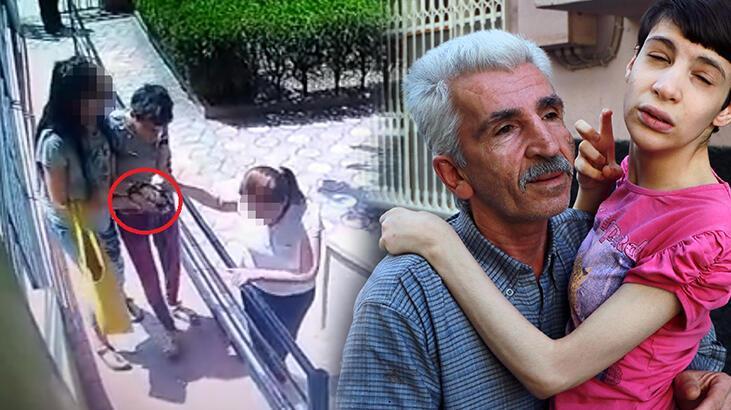Eski eşi, engelli kızının ellerini iple bağlayıp, rehabilitasyon merkezine götürmüş