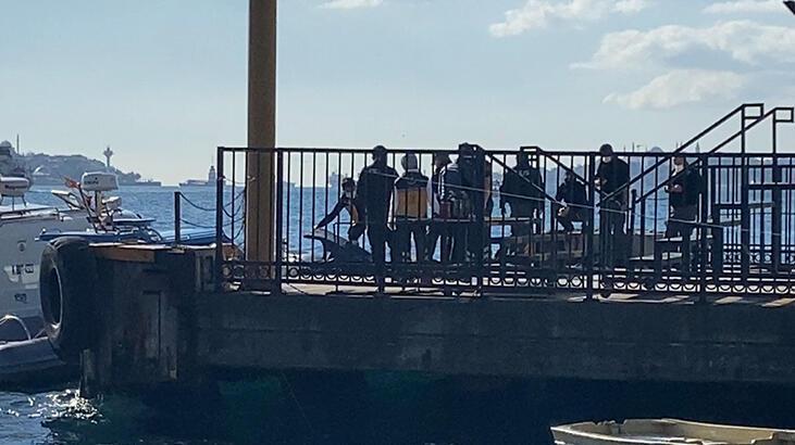 Ortaköy'de denizden erkek cesedi çıktı!