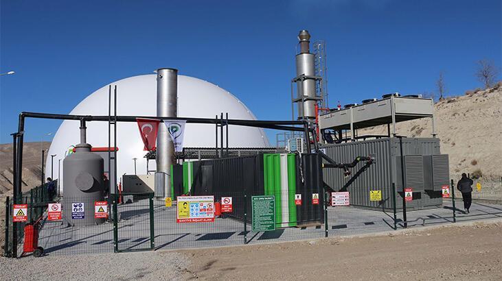 Çankırı'da çöpten elektrik üretecek tesisin açılışı yapıldı