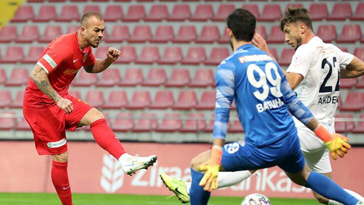 Hekimoğlu Trabzon, Kayserispor'u kupa dışında bıraktı!