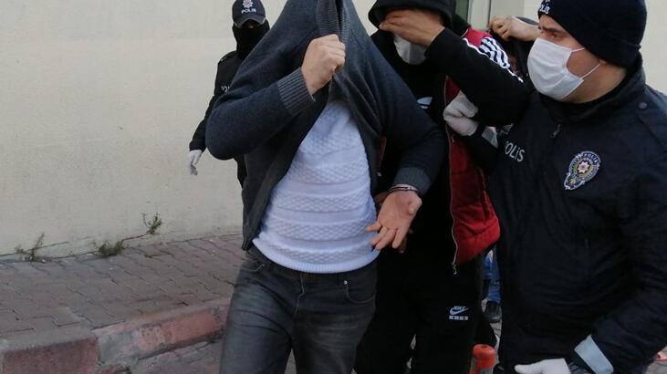 Zehir tacirlerine operasyon; 4 tutuklama