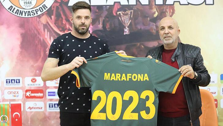 Son dakika - Aytemiz Alanyaspor, Marafona'nın sözleşmesini uzattı!