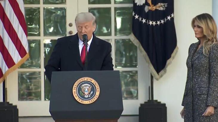 ABD Başkanı Trump, Amerikan halkının Şükran Günü'nü kutladı