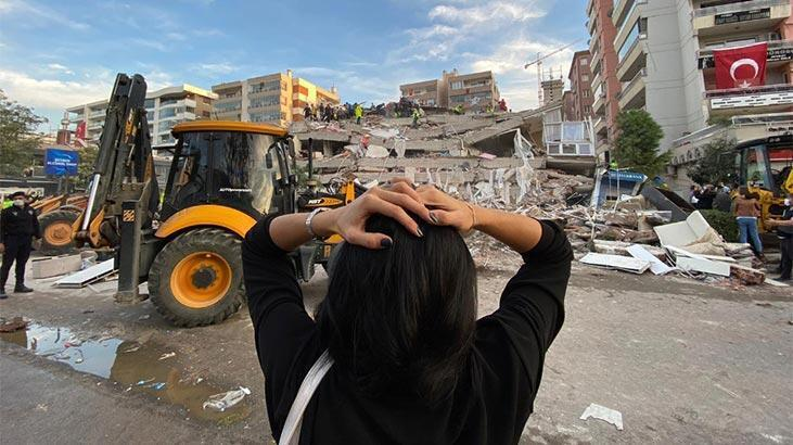 Depremden sonra bina testine koştuk