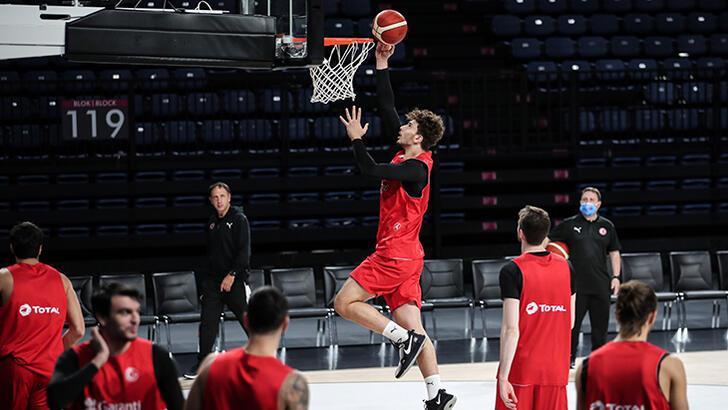 A Milli Erkek Basketbol Takımı Hırvatistan maçına hazır!
