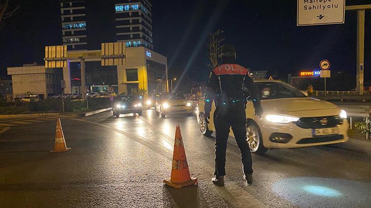 Yeditepe Huzur Uygulaması'nda, aranan 459 kişi yakalandı