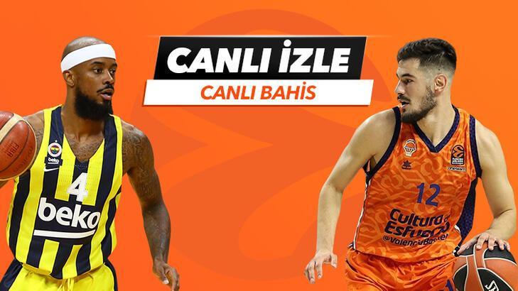 Fenerbahçe Beko - Valencia Basket canlı bahis heyecanı Misli.com'da