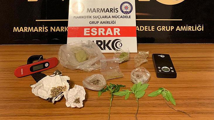 Muğla'da uyuşturucu operasyonu: 2 gözaltı