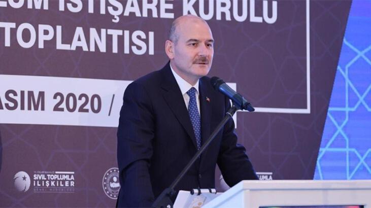 Bakan Soylu ülke genelindeki aktif dernek sayısını açıkladı